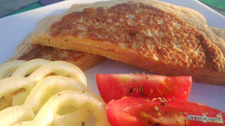 Serpenyős szendvics
