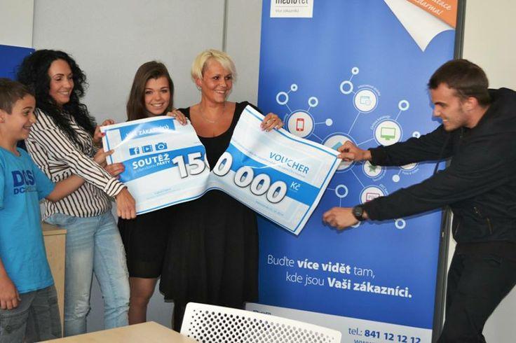 Půlení výhry v podání výherců naší soutěže :-) #Mediatel #Soutez