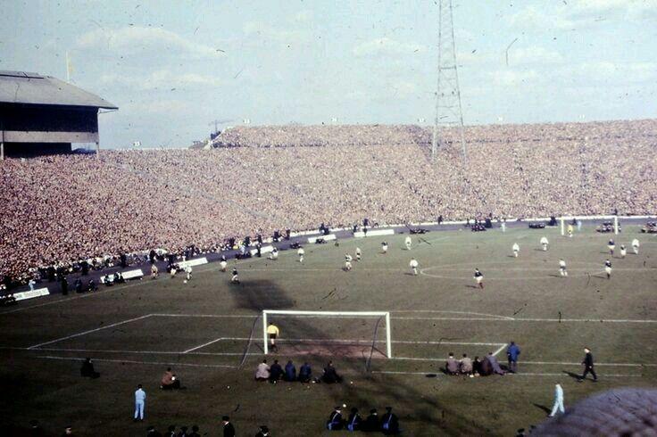 Scotland v England at Hampden Park. (1966)