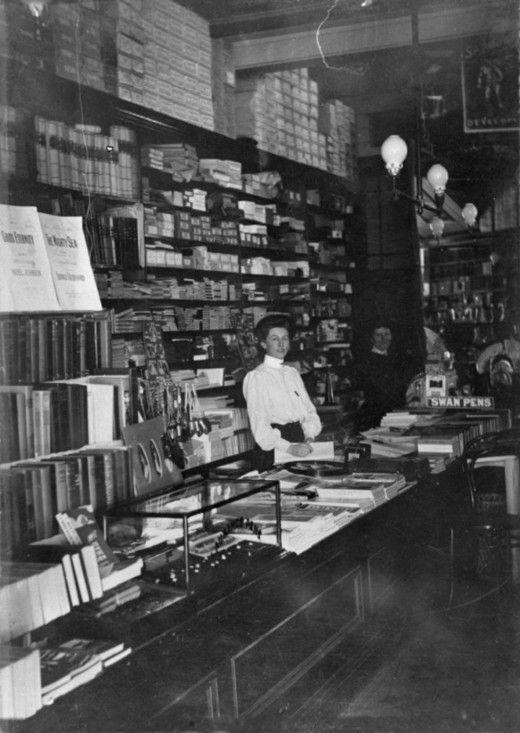 W.Carthew - bookshop - Feilding Library