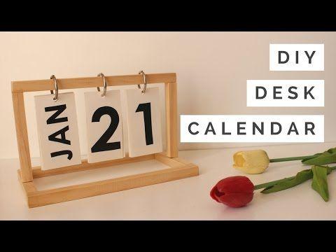 おしゃれなインテリアカレンダーの作り方動画集 – Handful[ハンドフル]