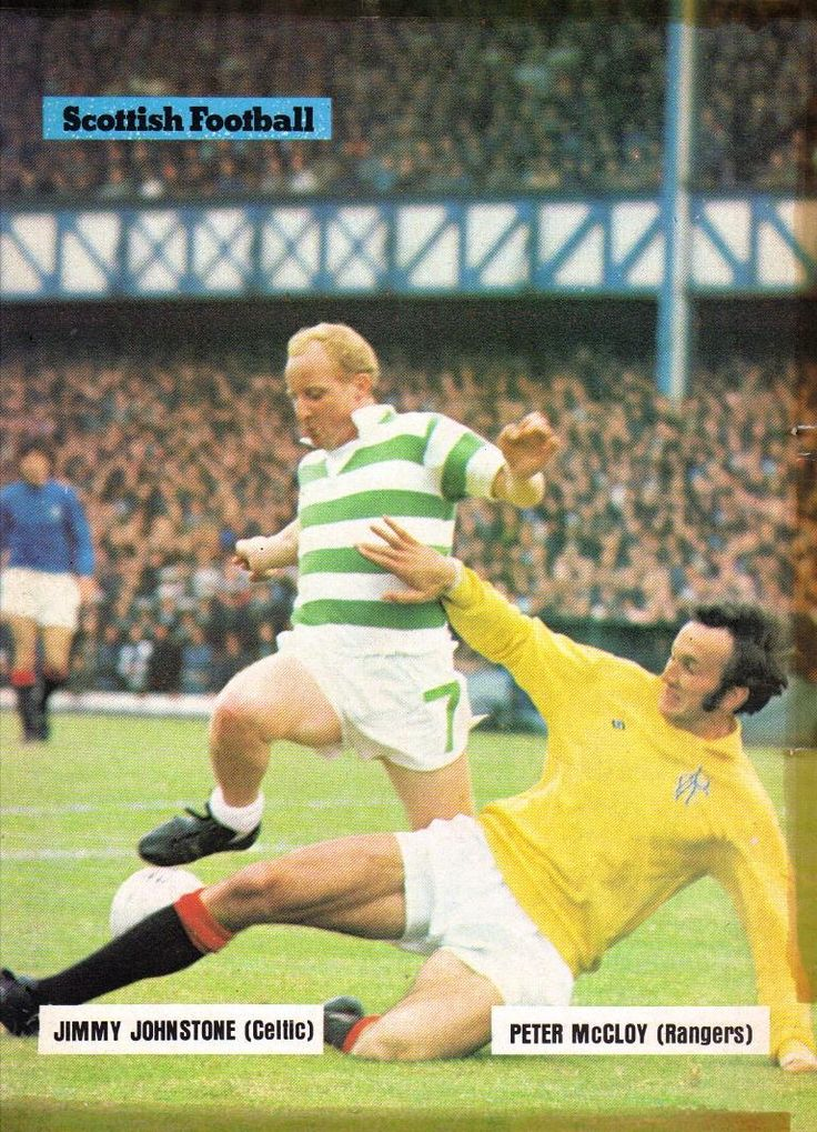 Jimmy Johnstone and Peter McCloy 1973