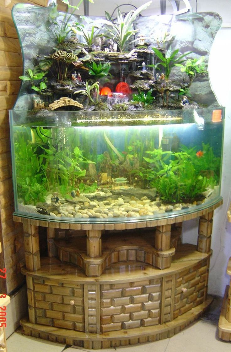 Best 25 fish tank stand ideas on pinterest tank stand for Cheap large fish tanks