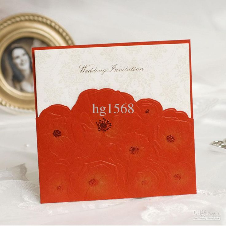 keralwedding card wordings in english%0A Wholesale RED Invitation cards Wedding Invitations Wedding cards  Free  shipping