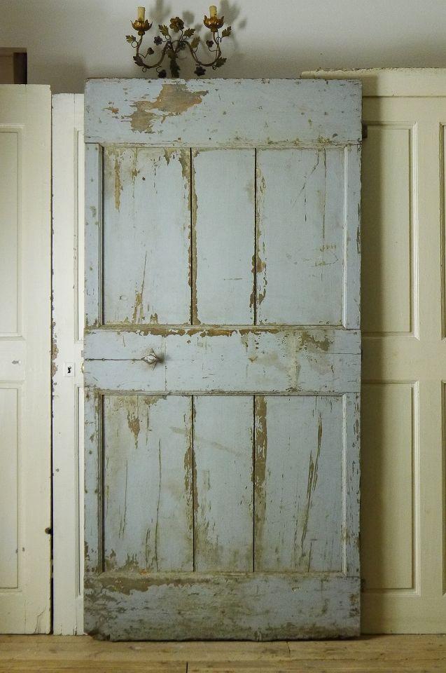 アンティーク シャビーなフレンチドア(右開き) French Vintage Provencal Door
