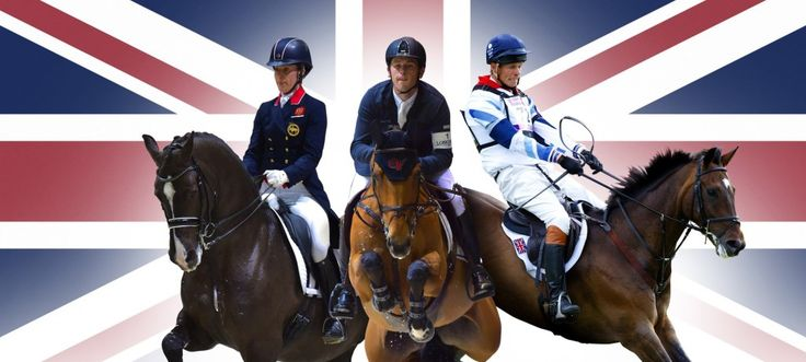Britain breaks equestrian records with world number ones in all three Olympic disciplines