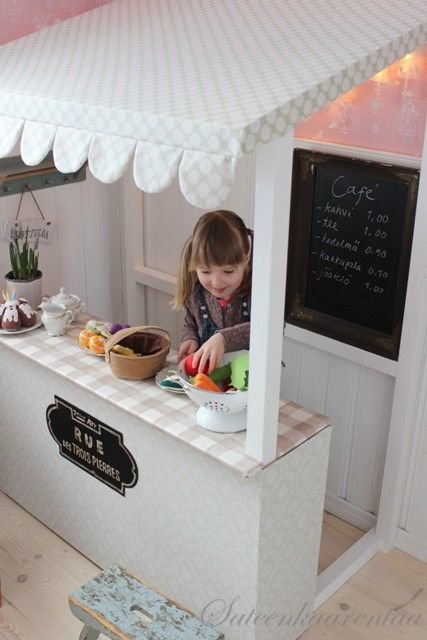 Perfect for kids who always are begging you to let them play in the kitchen!