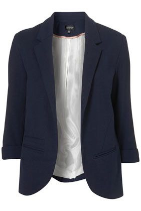 I love this blazer! The easiest way to fake a professional look, I would wear over a faded band t-shirt with holes in it:)