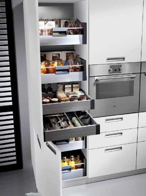 Pull out larder | Home D & Storage Ideas 4 my puny Apt ...