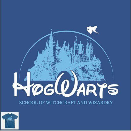 """Wizneyland"" designed by @warbucks360  #Disney #HarryPotter #todayisateeday"