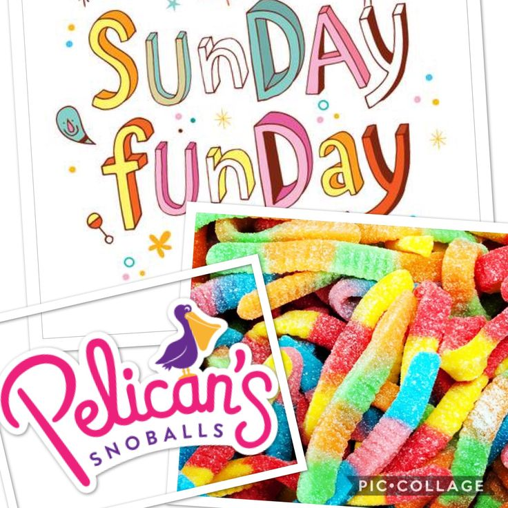 (With images) Snoballs, Sunday
