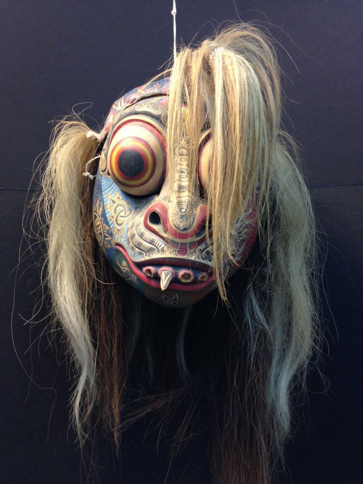 Wayang Wong Mask from Bali by EthnicArtandJewelry on Etsy, $129.95
