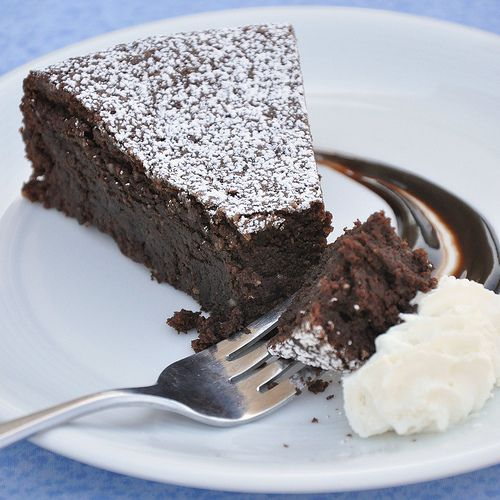 Torta Caprese - Flourless Chocolate Cake from the Isle of Capri