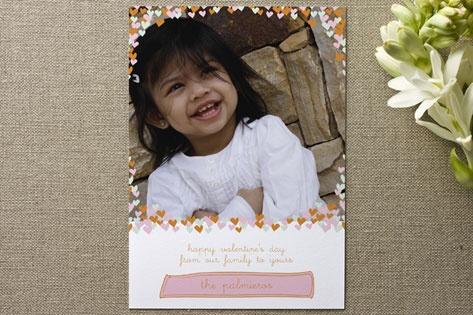 Birth Announcement. Confetti Hearts. $76