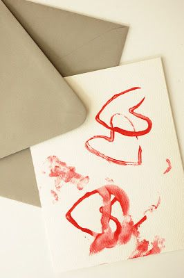 Rust & Sunshine: Heart Stamps - from a toilet paper roll