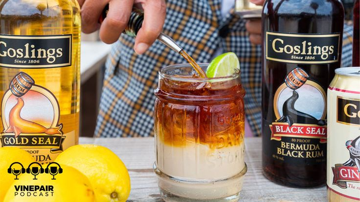 VinePair Podcast: Diving Into the Dark 'n Stormy | Dark n stormy, Dark n stormy cocktail, Italian hot
