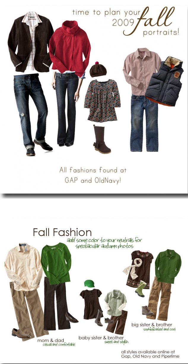 what to wear ideas | fall family session