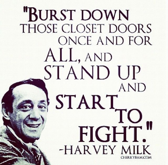 Image result for harvey milk quote