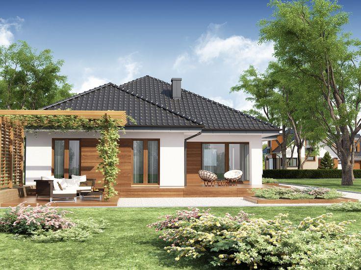 Projekt domu DA Hipokrates - DOM DS1-75 - gotowy projekt domu