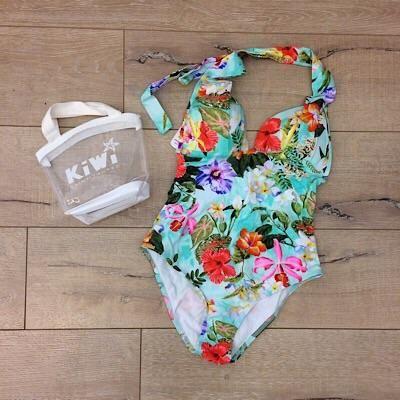 Kiwi maillot de bain Jungle 1 pièce
