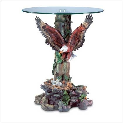 13 best images about novelty tables home d cor on for Eagle decorations home