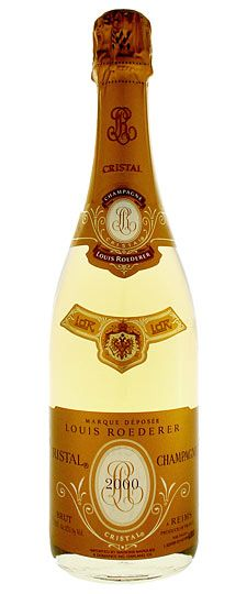 2000 Louis Roederer 'Cristal' Champagne -One Of The Best.