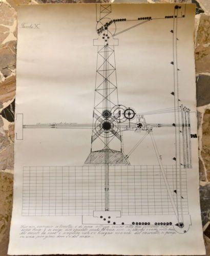 original 70's drawings on paper
