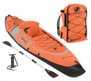 an inflatable kayak ... Do I need one no ... Do I want one OF COURSE.
