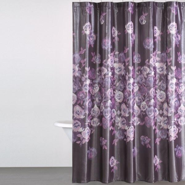 DKNY Winterbloom Fabric Shower Curtain