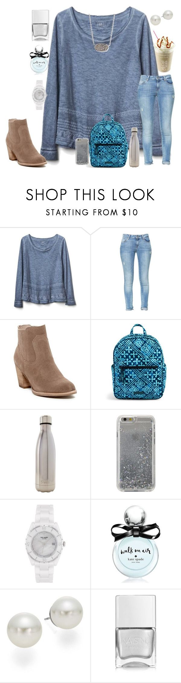 """I have been so busy guys"" by ctrygrl1999 ❤ liked on Polyvore featuring Gap, Zara, Dolce Vita, Vera Bradley, S'well, Agent 18, Kate Spade, AK Anne Klein, Nails Inc. and Kendra Scott"