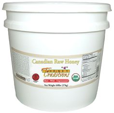 $135.99 - 15 lb of Raw Honey.  I need this.  There's a 60 lb pail for 385.99 - Good Lord!