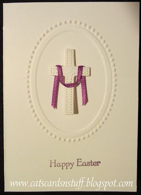 Easter card: Cards Ideas, Beautiful Cards, Cards Stuff, Cards Gorgeous, Cards East, Cat Cards, Easter Cards Lik, Confirmation Cards, Cards Crosses