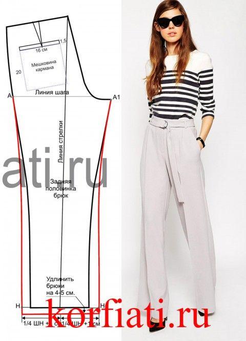 pantaloni modello
