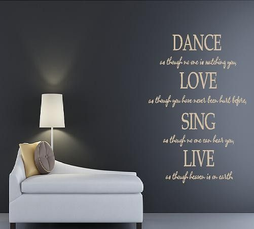 I love to dance and sing... When no one is watching of course ;)