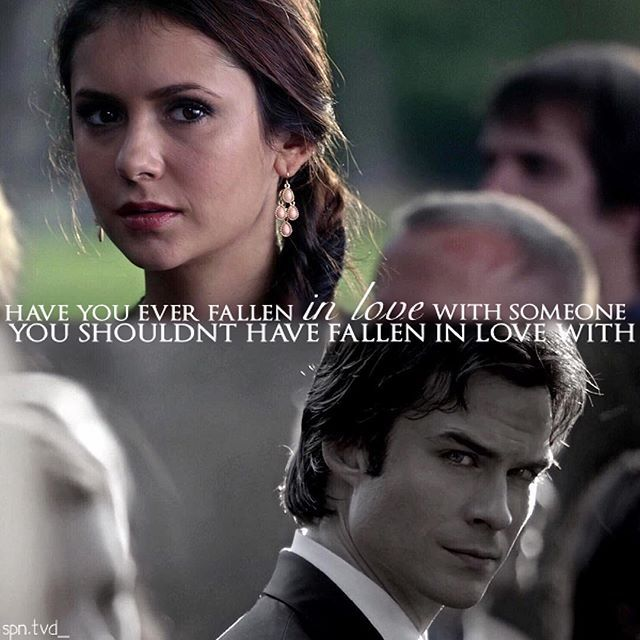 DAMON FELL IN LOVE WITH HIS BROTHERS GIRLFRIEND ELENA