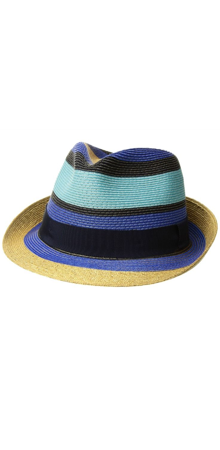 In top form. Raise sights with the crown jewel of this treasured  Etro   Striped  Straw  Hat.  men  hats b574a077d0fc