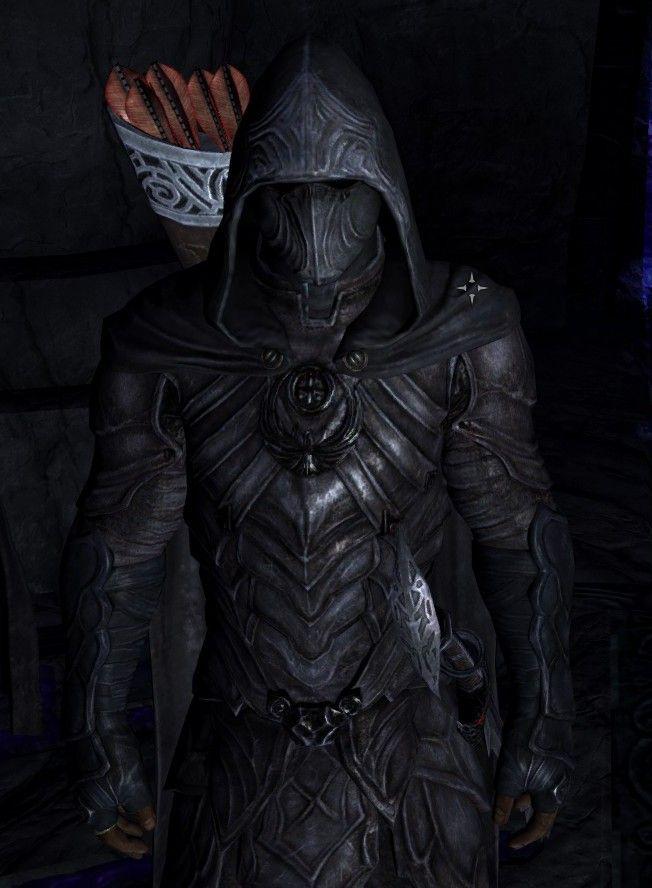 Nightingale Armor from Skyrim, simply badass!                                                                                                                                                                                 More