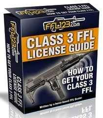 Primarily there are three classes of Federal Firearms Licenses, of which the Class 3 FFL License is the most important. One needs to apply for...
