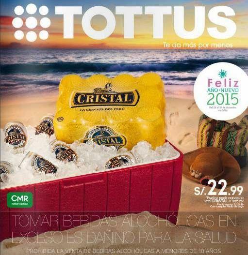 Catalogo con Ofertas de Tottus Año Nuevo 2015