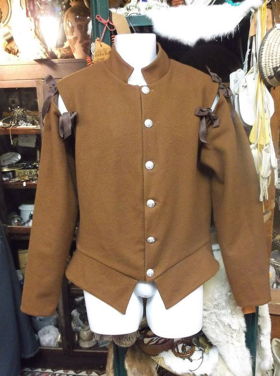 Working man's doublet. https://www.etsy.com/listing/233020511/mens-wool-renaissance-doublet-medium