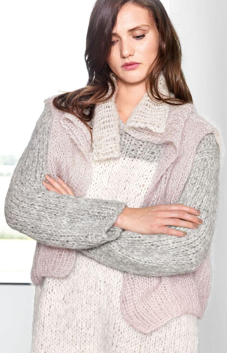 Lana Grossa WESTE  Silkhair Degradè - Design Special No. 4 - Modell 33   FILATI.cc WebShop