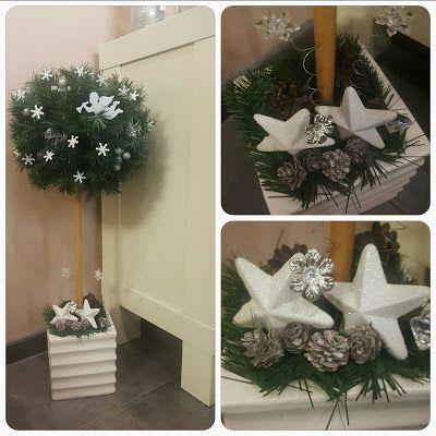 Ötletes Blog: Karácsonyi álló gömb dekoráció