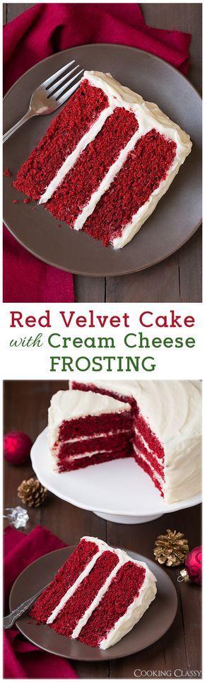Red Velvet Cake já prostě miluju!!!