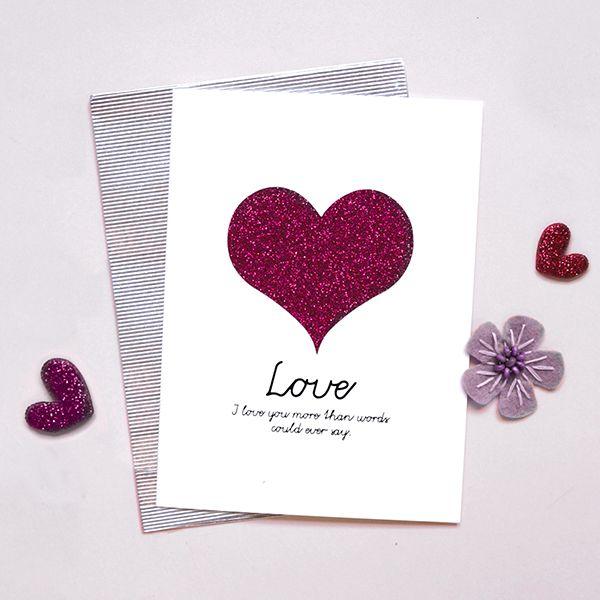 K-paper love card c15045lm