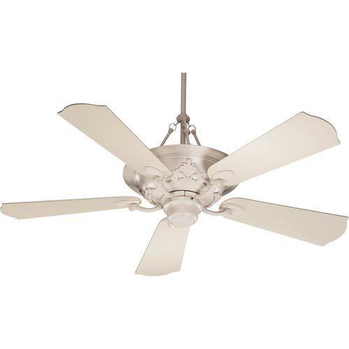 Quorum International Salon Antique White 56 Inch Ceiling Fan