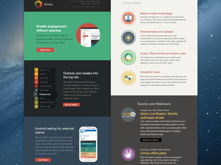Best Webdesign  Newsletter Images On   Design Web