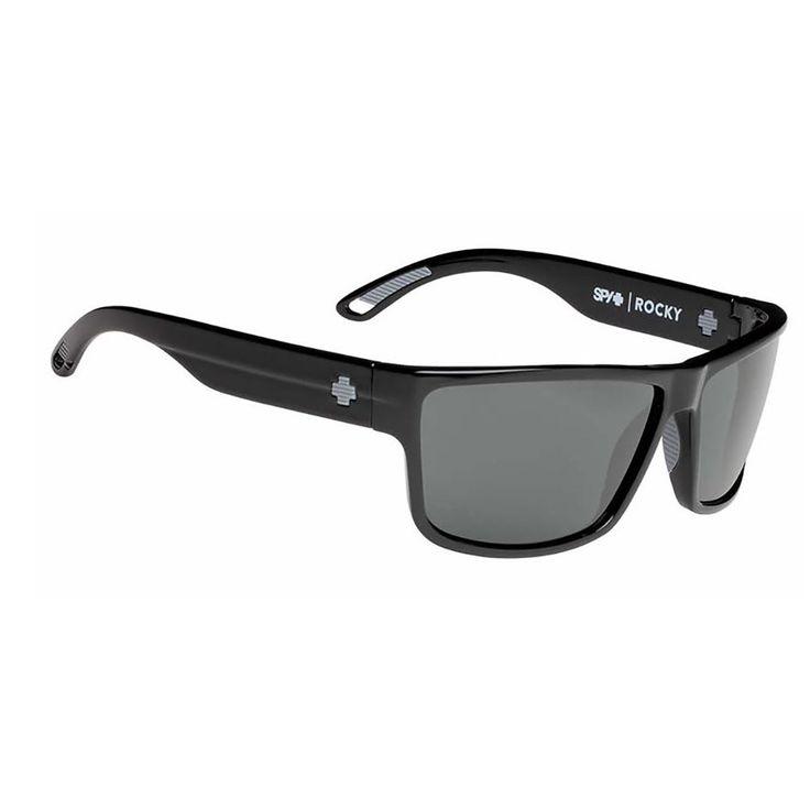 Spy Sunglasses Rocky Black Happy Grey Green