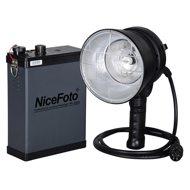 Профессиональный аккумуляторный импульсный свет NiceFoto PF-600A (крепление bowens)