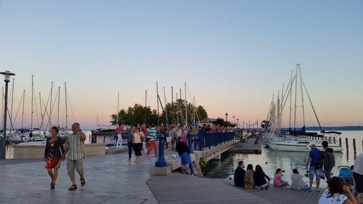 #siofok #balaton #summer #hungary #balatonfured #promenade #jachts #vacation #lovehungary