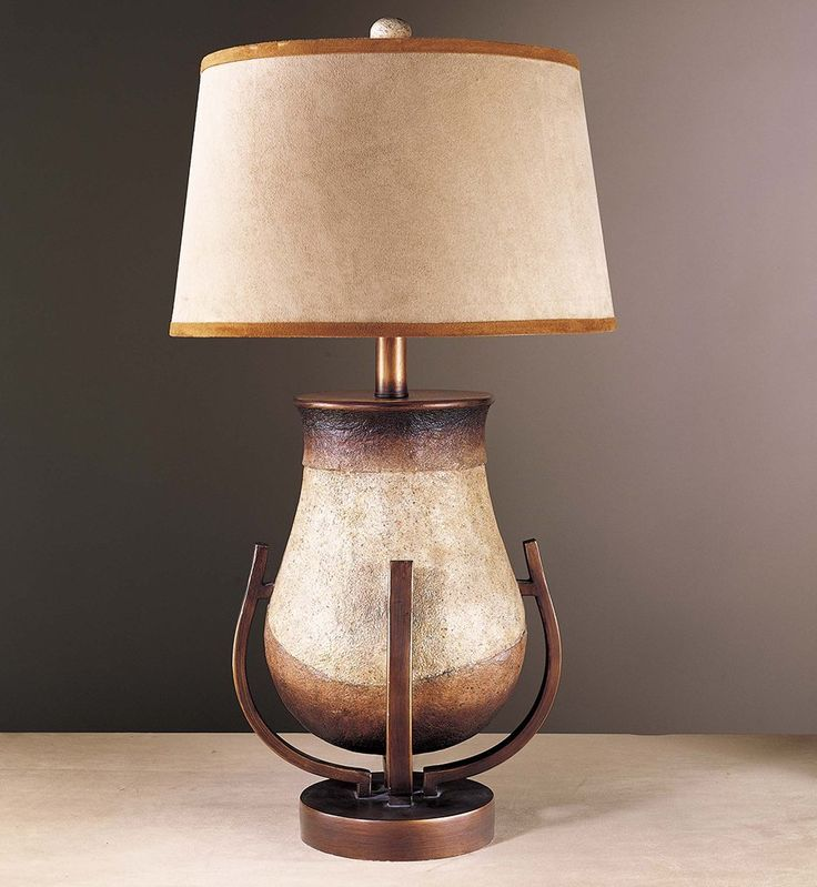 This transitional buffet lamps look great